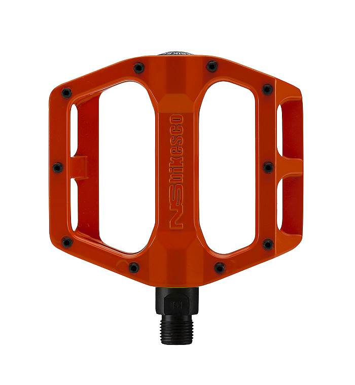 NS Bikes Aerial STD pedals LB Orange Hell