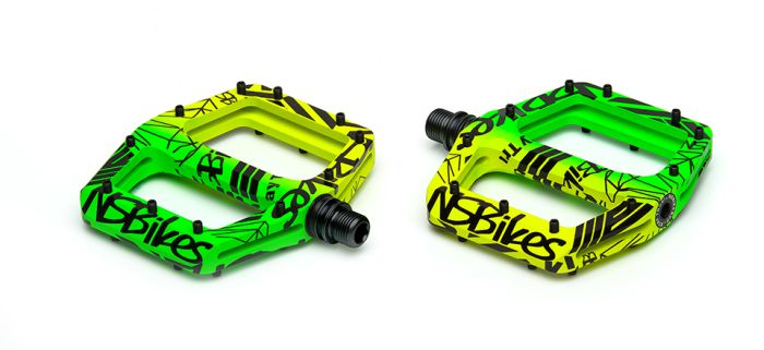 NS Bikes Radiance pedals Lemon Lime (Jungle)