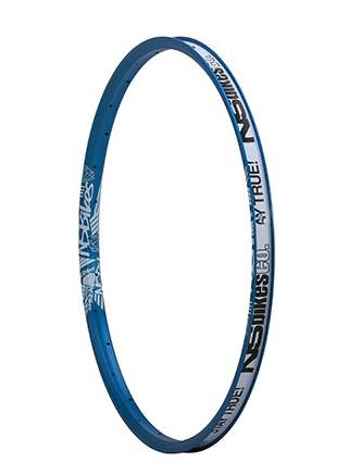 "NS Bikes Trailmaster II rim 24"" Soda Blue"