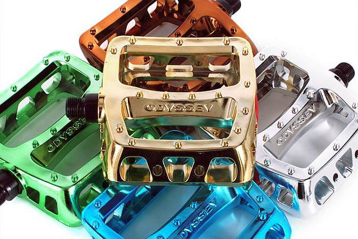Odyssey pedals Twisted PC Metalic series