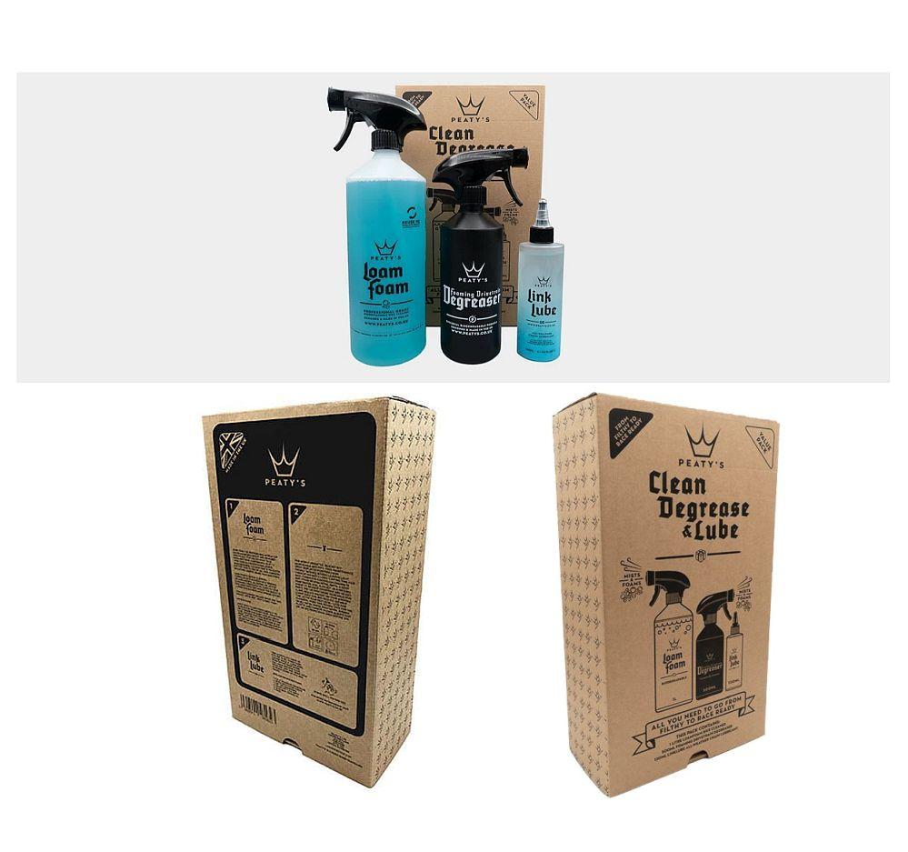 Peaty's Clean, Degrease & Lube Gift Pack