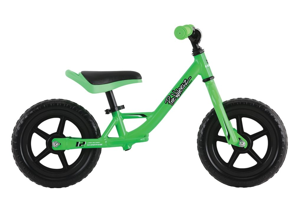 Haro PreWheelz Alu 12 - balance bike - Apple green