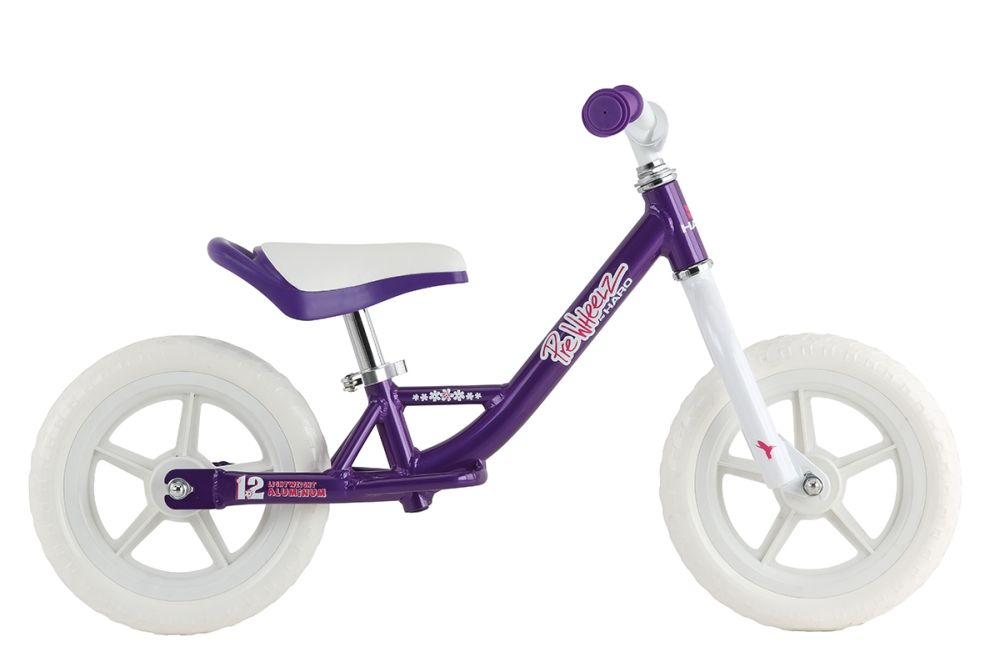 Haro PreWheelz Alu 12 - balance bike - Purple