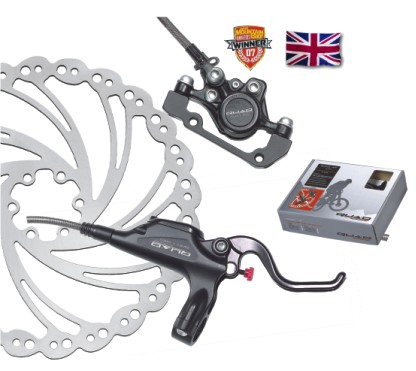 Quad Sting Pro XC hydraulic brake rear 160 mm