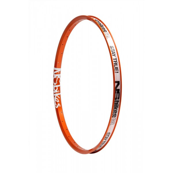 "NS Bikes Trailmaster LTD - orange rim 24""/32H"