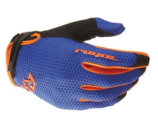 Royal Quantum blue/orange rukavice vel. XL