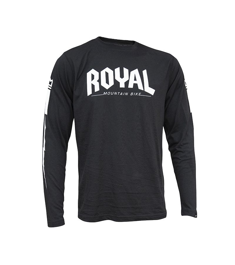 Royal CORE X LS jersey Long Sleeve - Black