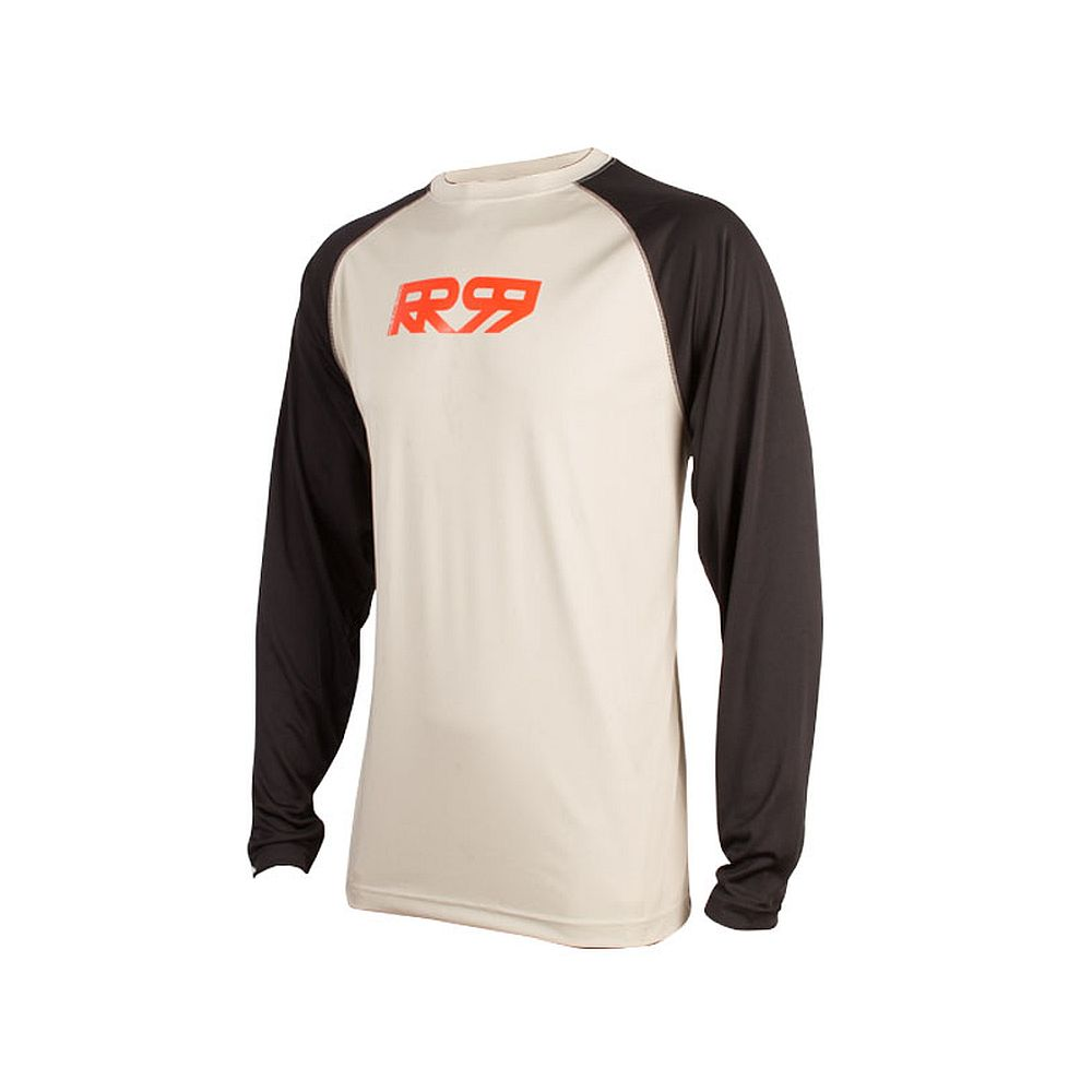 Royal CORE RR99 LS jersey Long Sleeve - Stone Grey Black