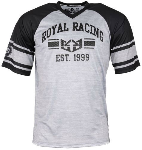 Royal Graduate jersey - Black/Graphite/White
