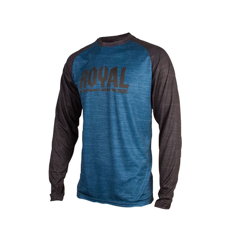 Royal HERITAGE LS jersey Long Sleeve - Diesel Black