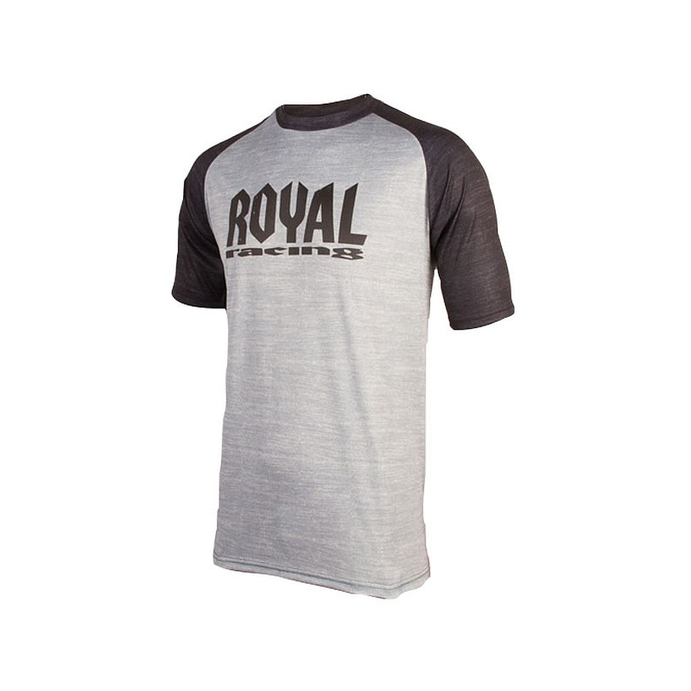 Royal HERITAGE SS jersey Short Sleeve - Grey Black