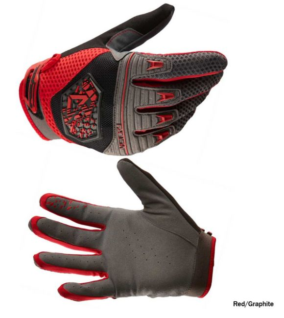 Royal VICTORYRed/Graphite gloves
