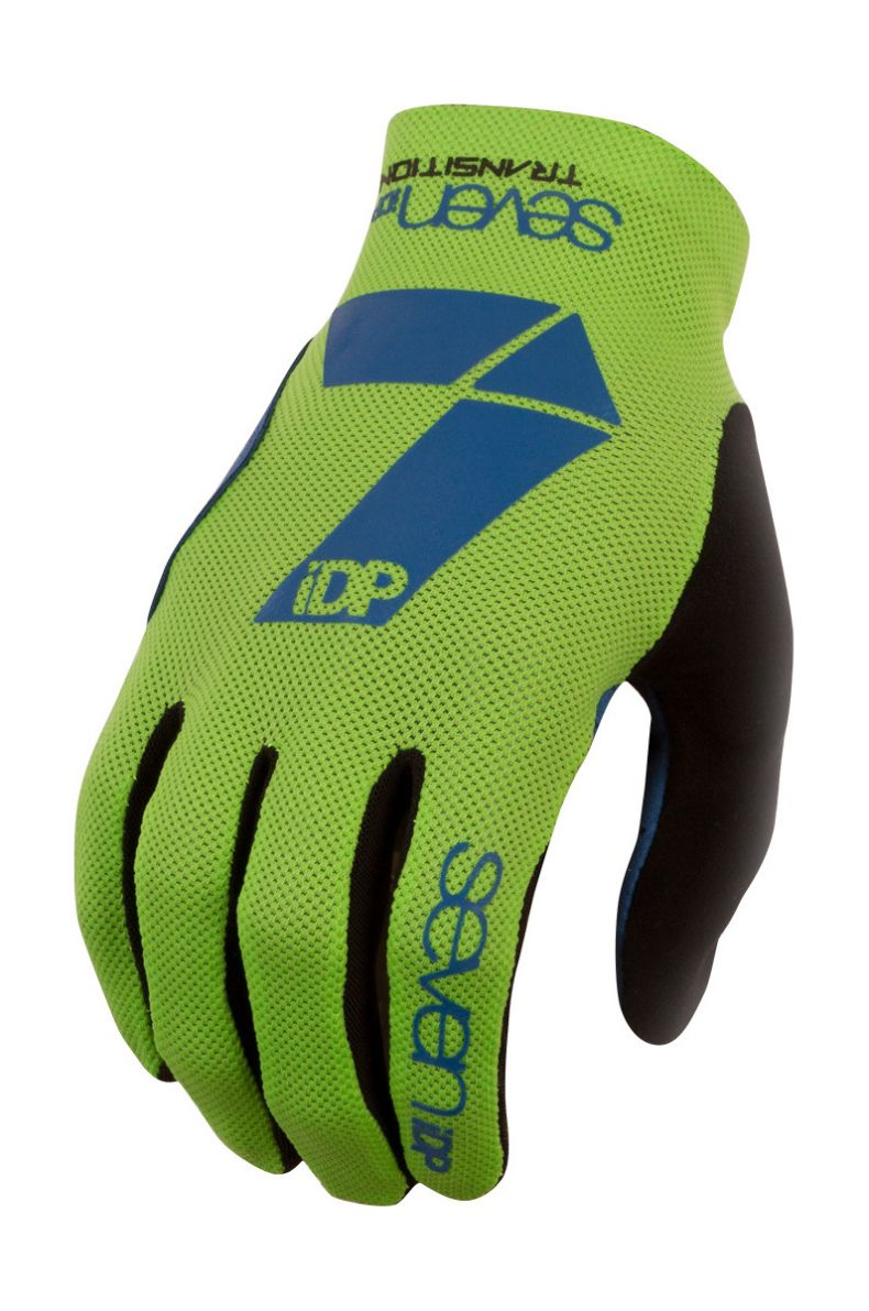 7idp Seven Transition rukavice Lime / Navy Blue