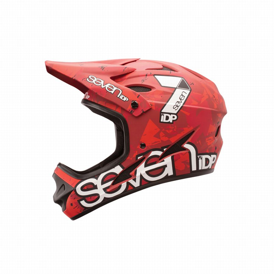 7idp - SEVEN (by Royal) helmet M1 Camo Red (22) size L