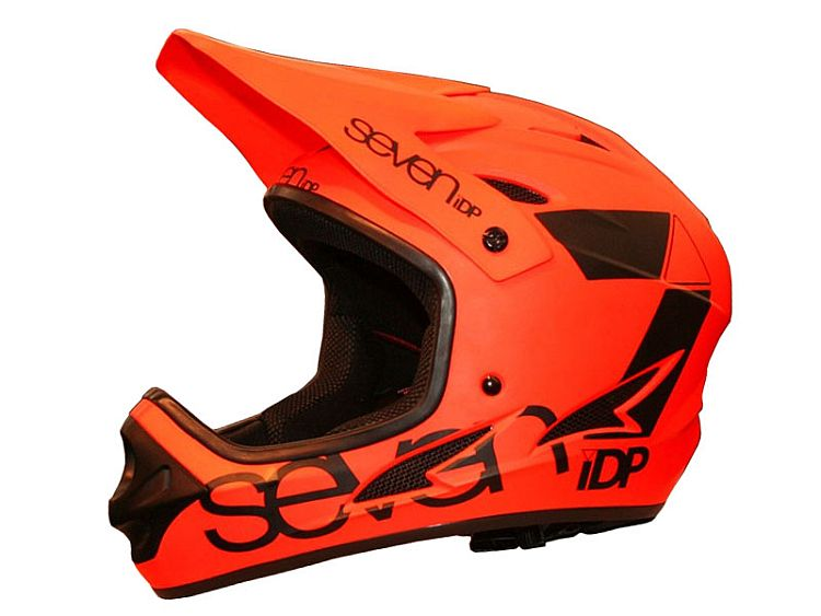 7idp - SEVEN (by Royal) helmet M1 orange