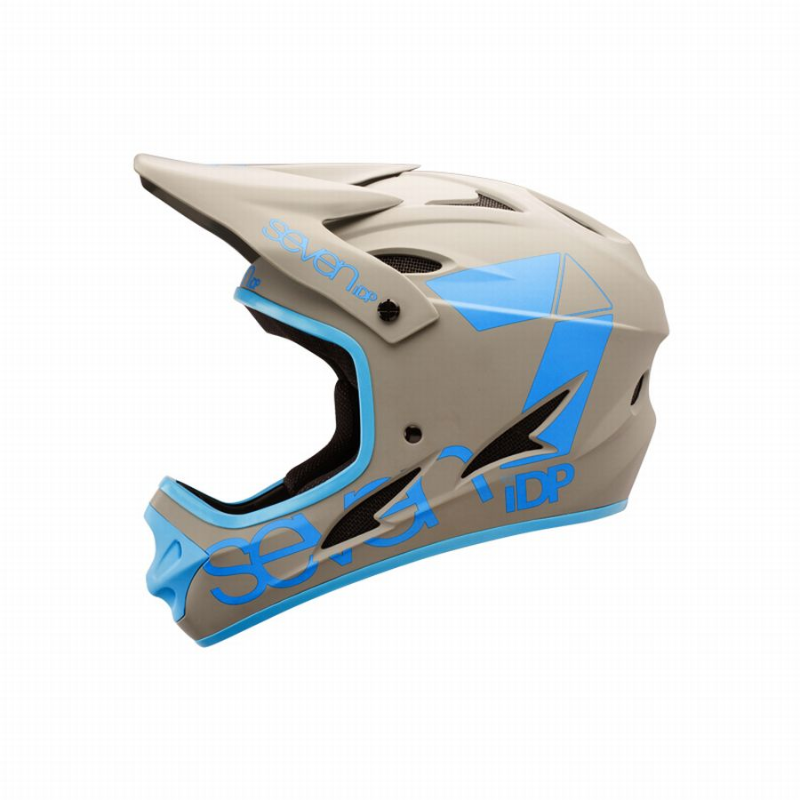7idp - SEVEN (by Royal) helmet M1 Primer Grey/Blue (08)
