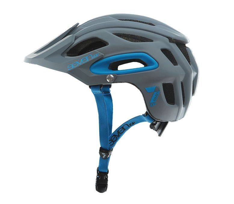 7idp - SEVEN (by Royal) helmet M2 matt primer grey/blue