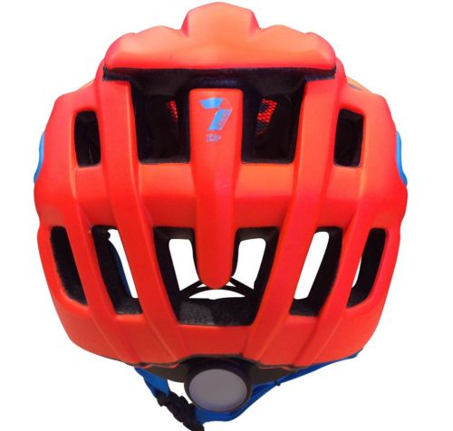 7idp - SEVEN (by Royal) helmet M2 Matt Neon Red / Neon Blue