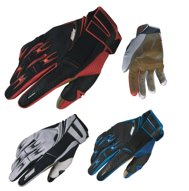 Shot Flexor Abyss gloves blue