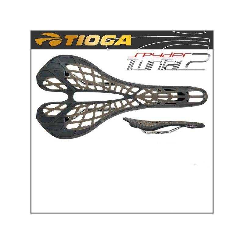 Tioga Spyder Twintail 2 saddle