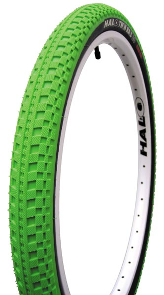 Halo Twin Rail 26 x 2.2 green tire
