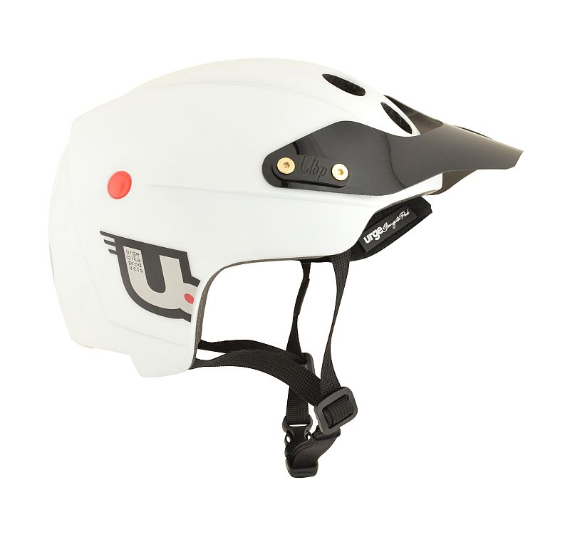 URGE Endur-O-matic White Mat helmet