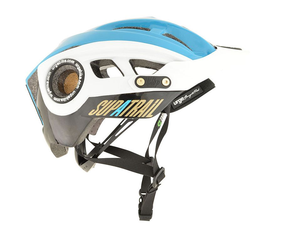 URGE SupaTrail helma - Black/blue