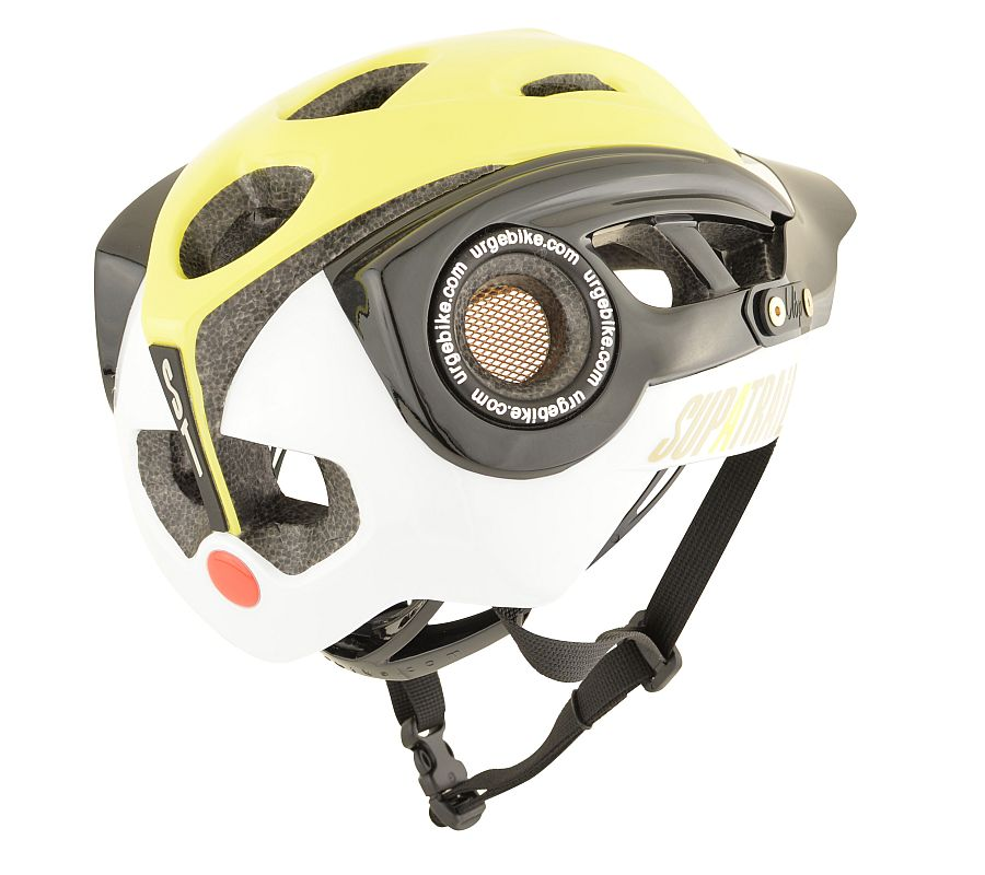 URGE SupaTrail helmet - Black/lime